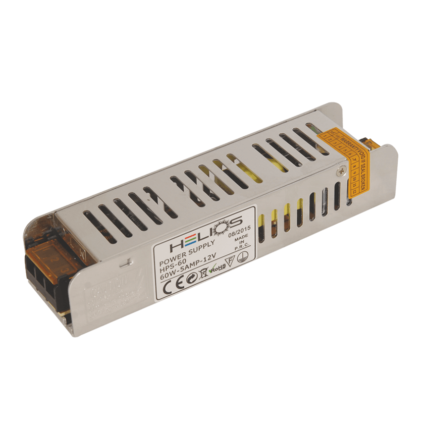 HELIOS 19-0500 - 5 Amper 60 Watt LED Trafosu