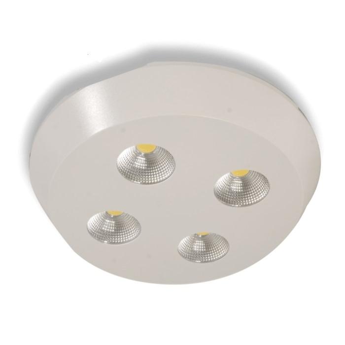 HELIOS 37-3200 - 4x8 Watt Sıva Üstü Yuvarlak COB LED Spot