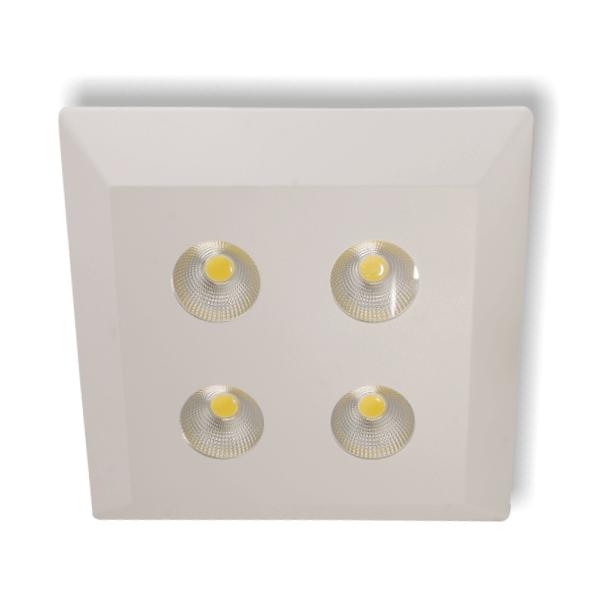 HELIOS 38-3200 - 4x8 Watt Sıva Üstü Kare COB LED Spot