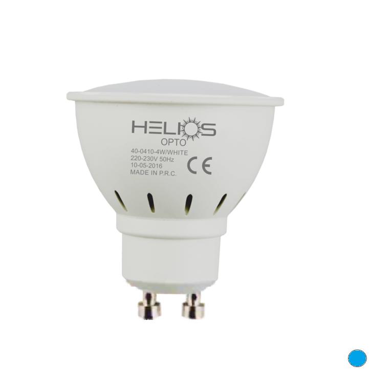 HELIOS 40-0412 - GU10 Duylu 7 Watt LED Spot Ampulü