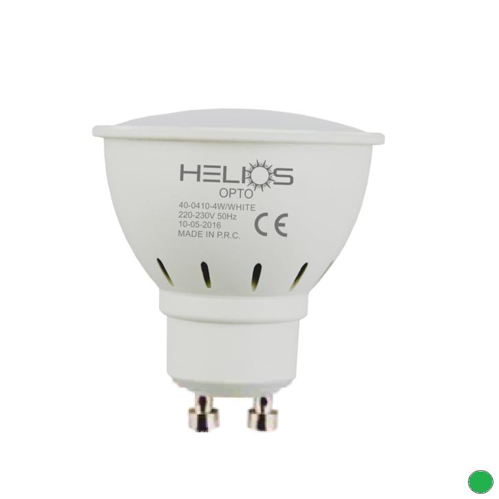HELIOS 40-0414 - GU10 Duylu 7 Watt LED Spot Ampulü