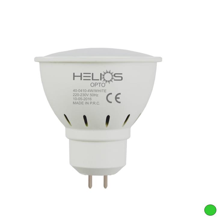 HELIOS 40-0443 - GU5.3 Duylu 4 Watt LED Spot Ampulü