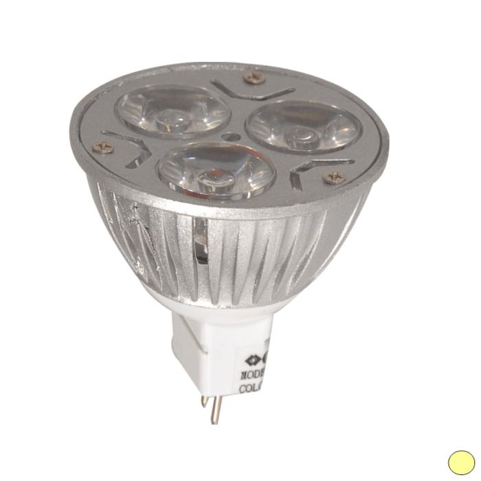 HELIOS 40-1431 - GU5.3 Duylu 3 Watt LED Spot Ampulü