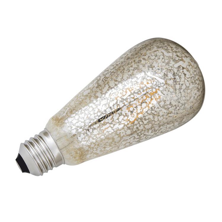 HELIOS 43-4008 - 6 Watt Armut LED Flaman Ampul