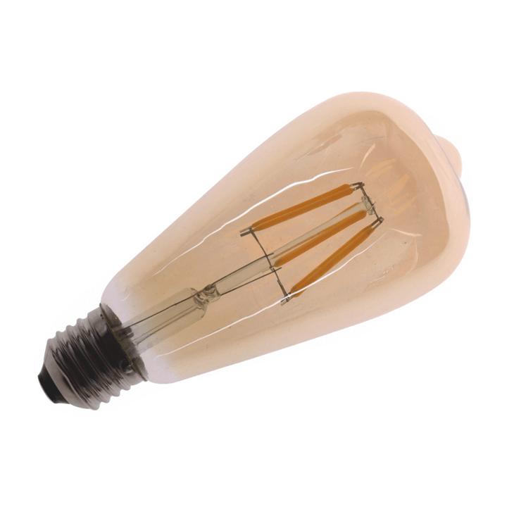 HELIOS 43-4010 - 6 Watt Armut LED Flaman Ampul