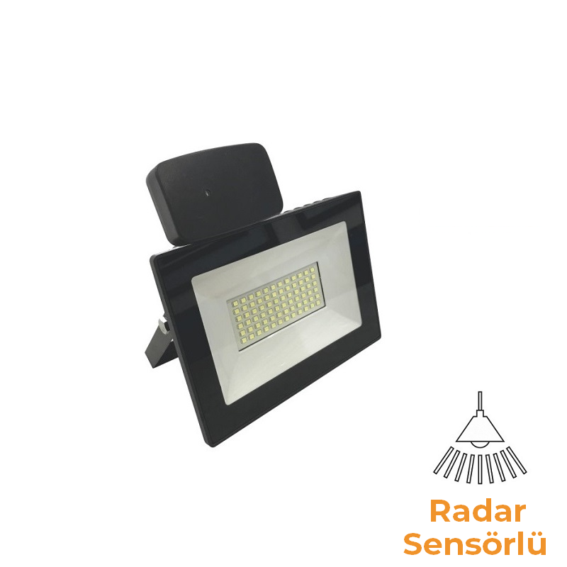 HELIOS 50-2110 - 20 Watt Sensörlü SMD LED Projektör