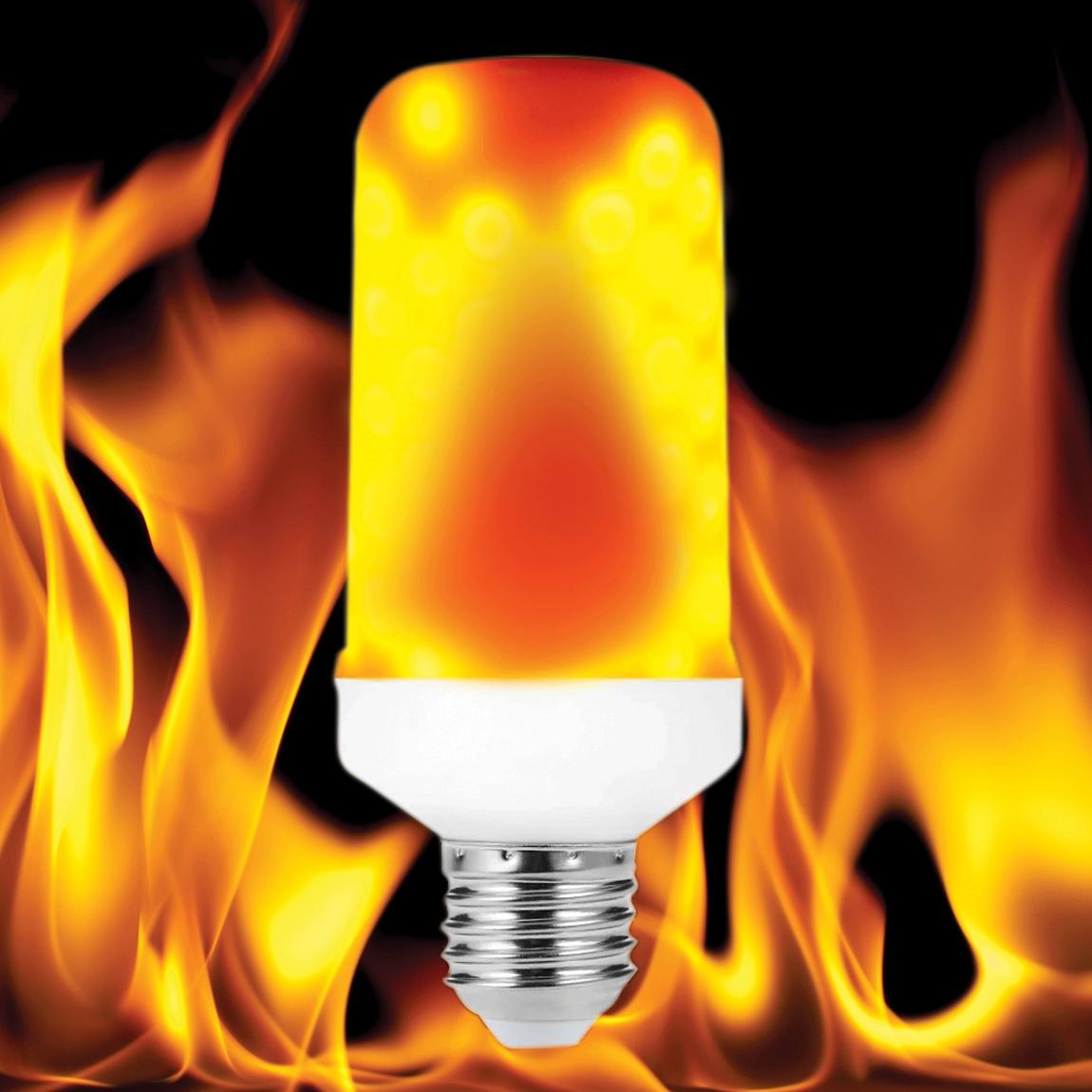 FORLIFE FL-1235 - 4 Watt Alev Efektli LED Ampul