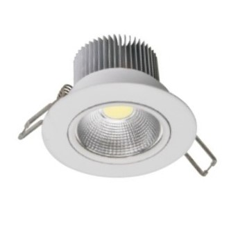 FORLIFE FL-2063 - 5 Watt Sıva Altı Beyaz Kasa COB LED Spot Armatür