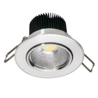 FORLIFE FL-2064 - 5 Watt Sıva Altı Krom Kasa COB LED Spot Armatür
