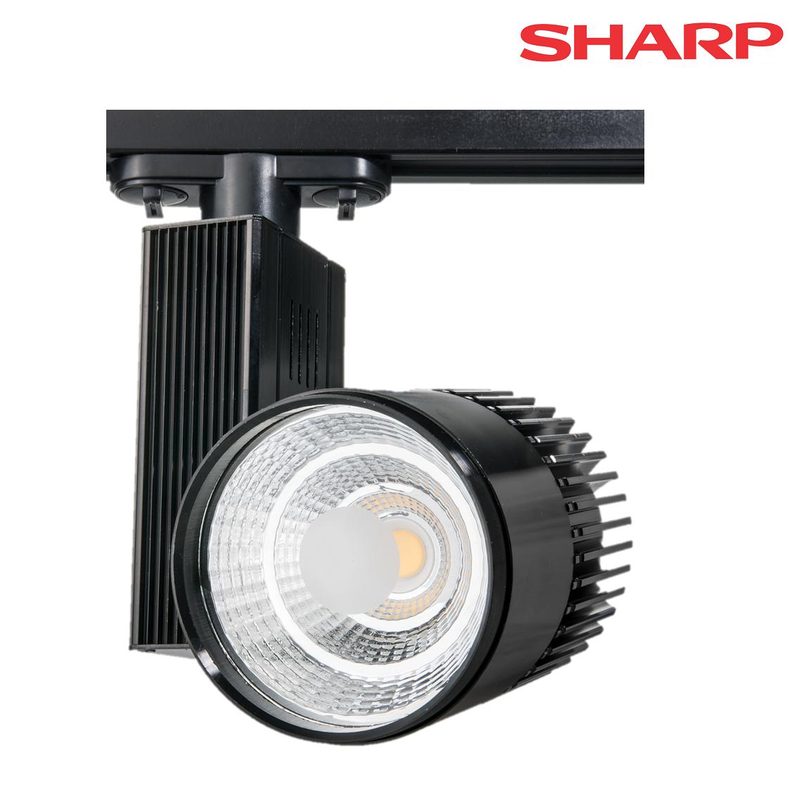FL-2084 S - 35 Watt Siyah Kasa SHARP Ray Spot