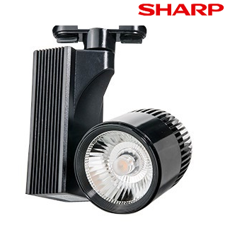 FL-2232 S - 25 Watt Siyah Kasa SHARP Ray Spot