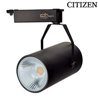 CITIZEN FL-2238 S - 40 Watt Siyah Kasa Ray Spot