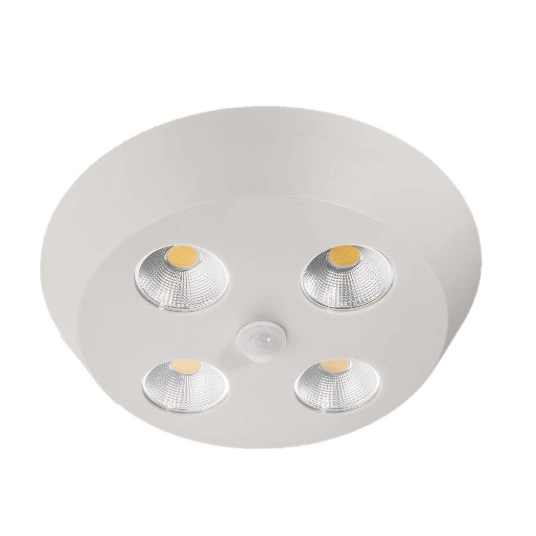 FORLIFE FL-2305 - 4x10 Watt Sıva Üstü Yuvarlak COB LED Spot