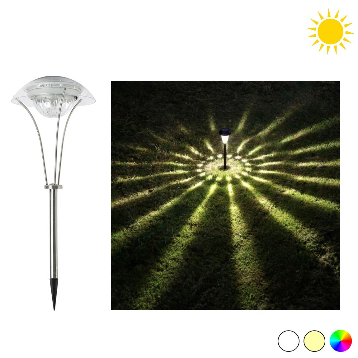 FORLIFE FL-3121 - 5 Watt Fotoselli LED Kazıklı Bahçe Armatürü