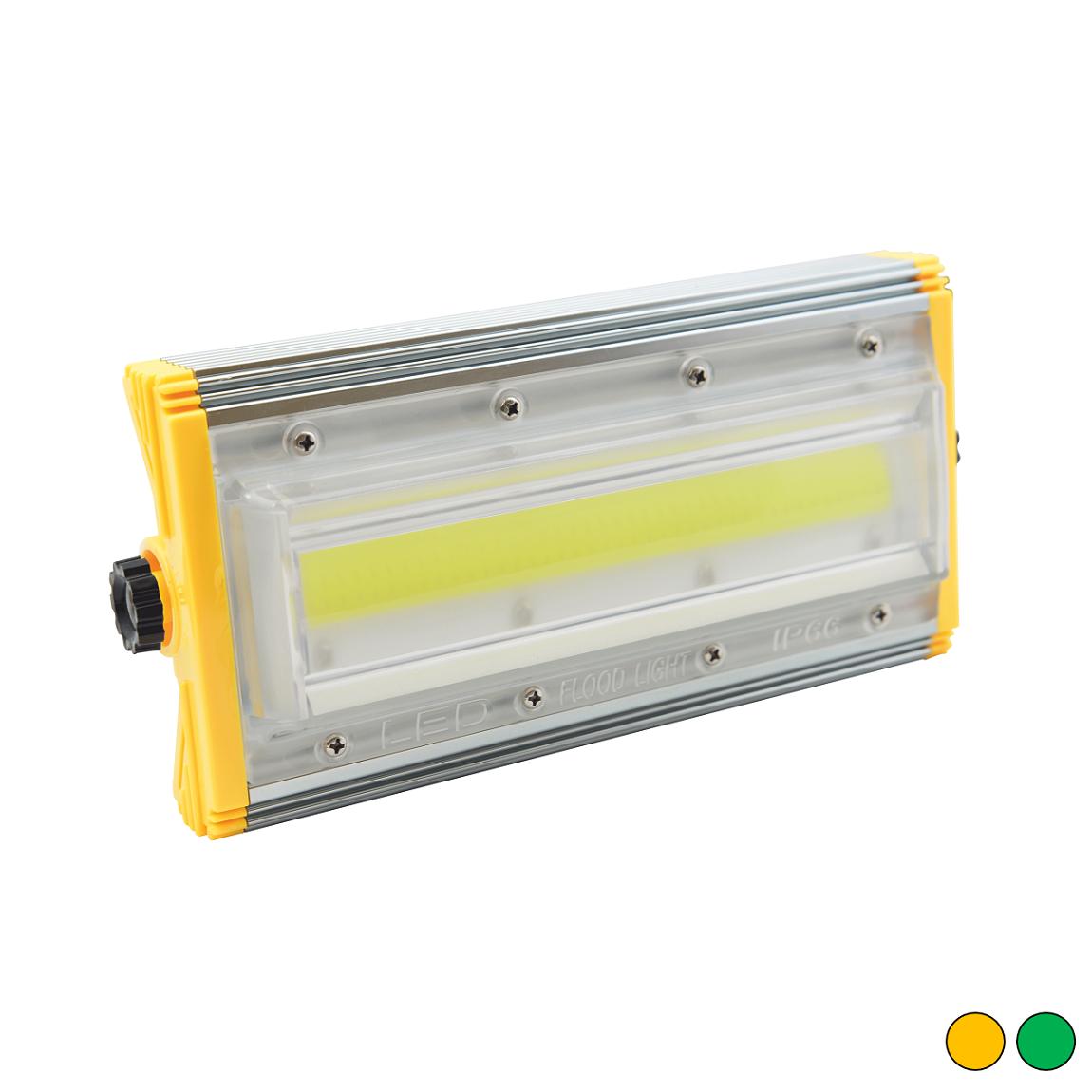 FL-6040-YA - EPISTAR 50 Watt Şarjlı & Portatif COB LED Modül Projektör