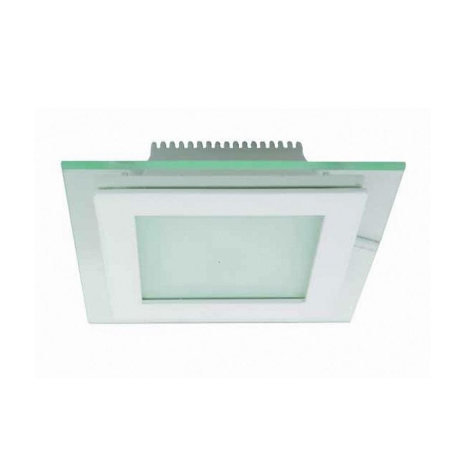 K2 GLOBAL KDL220 - 6 Watt Camlı Sıva Altı Kare LED Panel Armatür