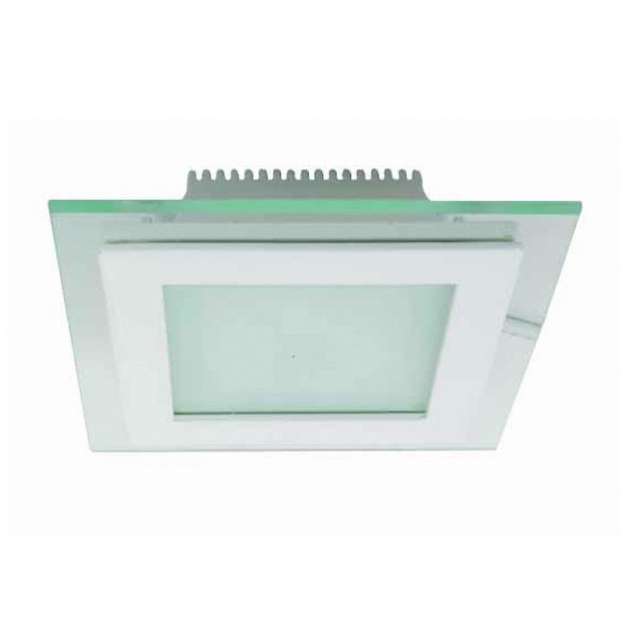K2 GLOBAL KDL224 - 16 Watt Camlı Sıva Altı Kare LED Panel Armatür