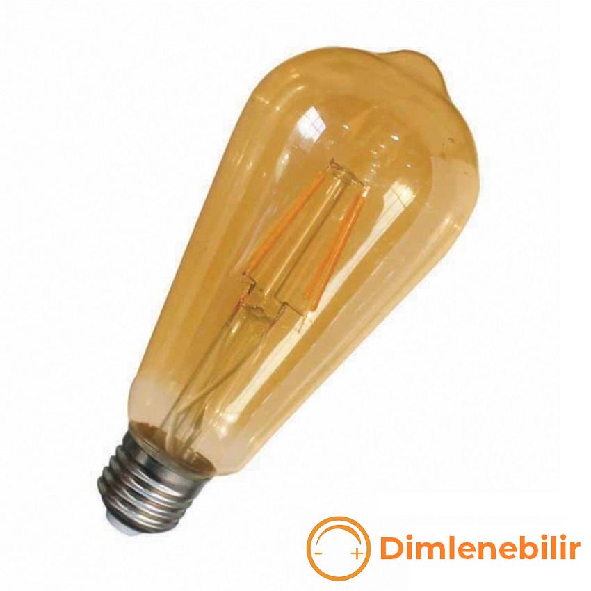 K2 GLOBAL KES632 - 8 Watt LED Flaman Ampul (Dimlenebilir)