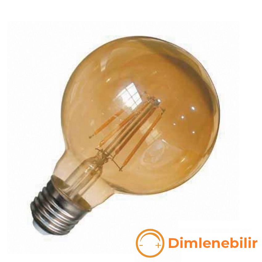 K2 GLOBAL KES633 - 6 Watt LED Flaman Ampul (Dimlenebilir)