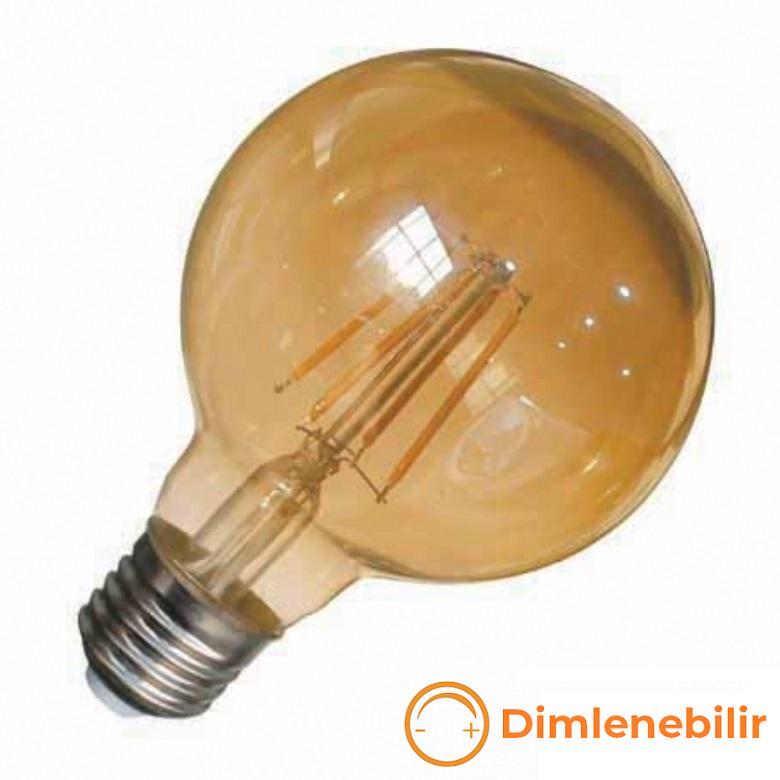 K2 GLOBAL KES634 - 8 Watt LED Flaman Ampul (Dimlenebilir)