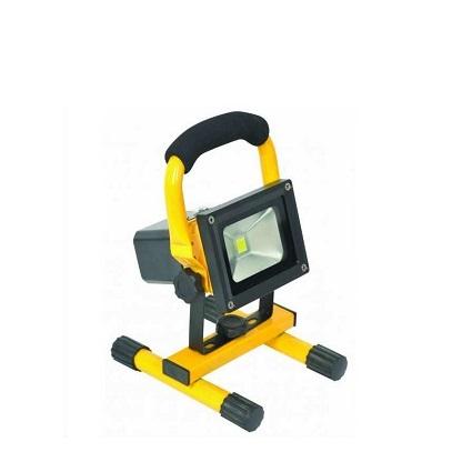 K2 GLOBAL KLF400 - 10 Watt Şarjlı COB LED Projektör