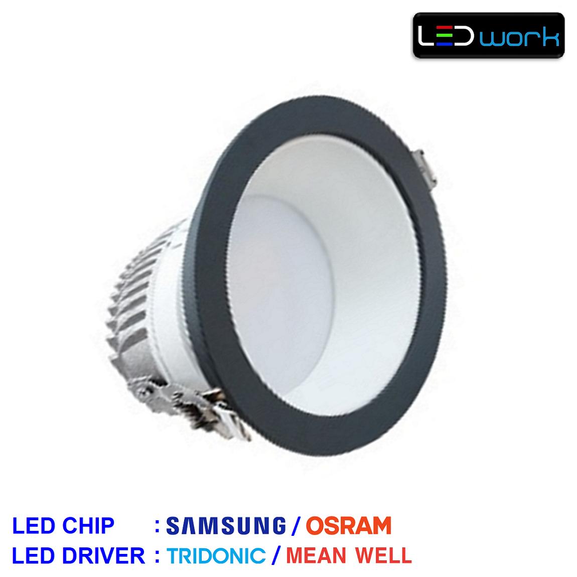 LW-Cosinus-002 - Sıva Altı LED Mağaza Spotu