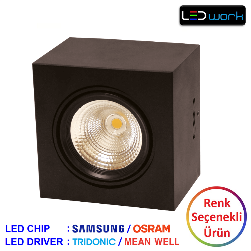 LW-Deko-001 - Sıva Üstü LED Spot