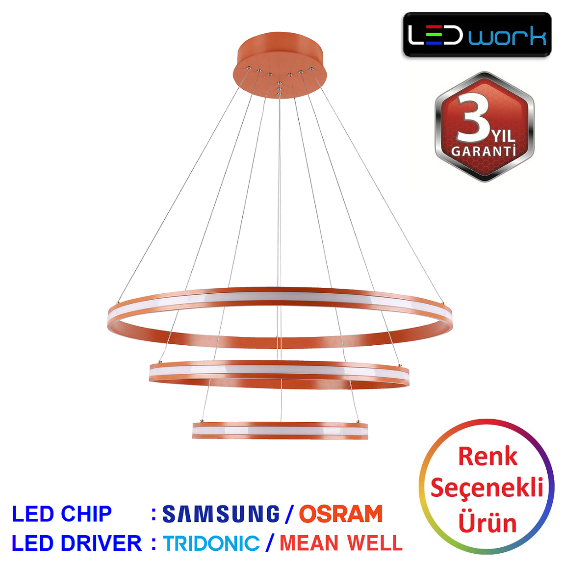 LW-Elegant-02 - Dekoratif LED Sarkıt