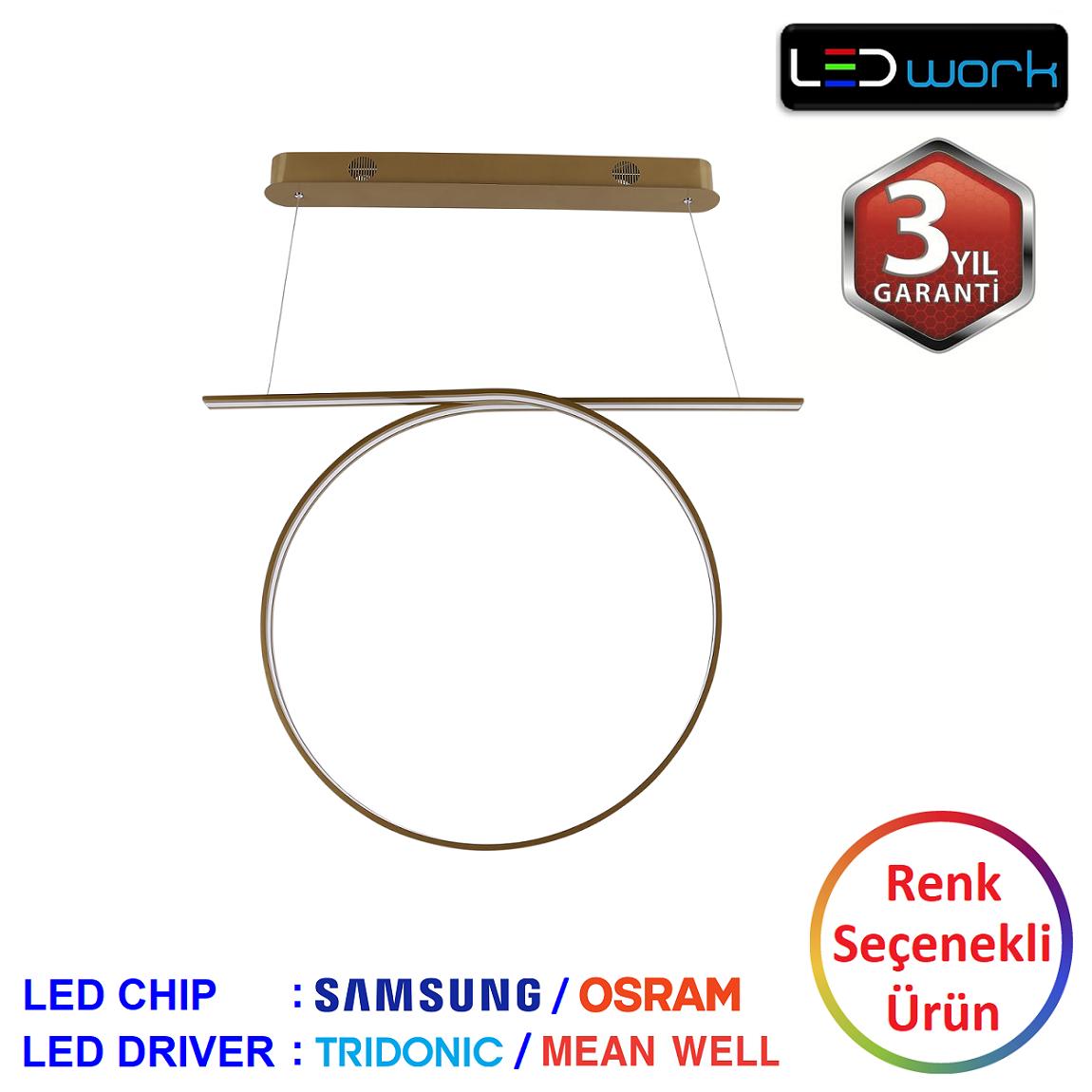 LW-Elegant-09 - Dekoratif LED Sarkıt