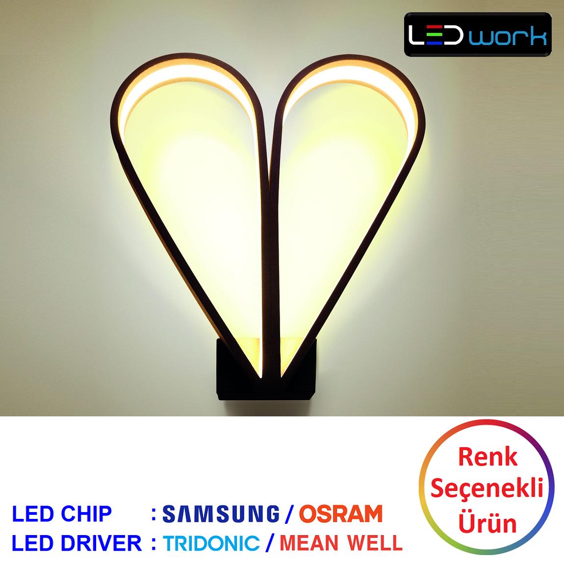 LW-Elegant-102 - Dekoratif LED Aplik