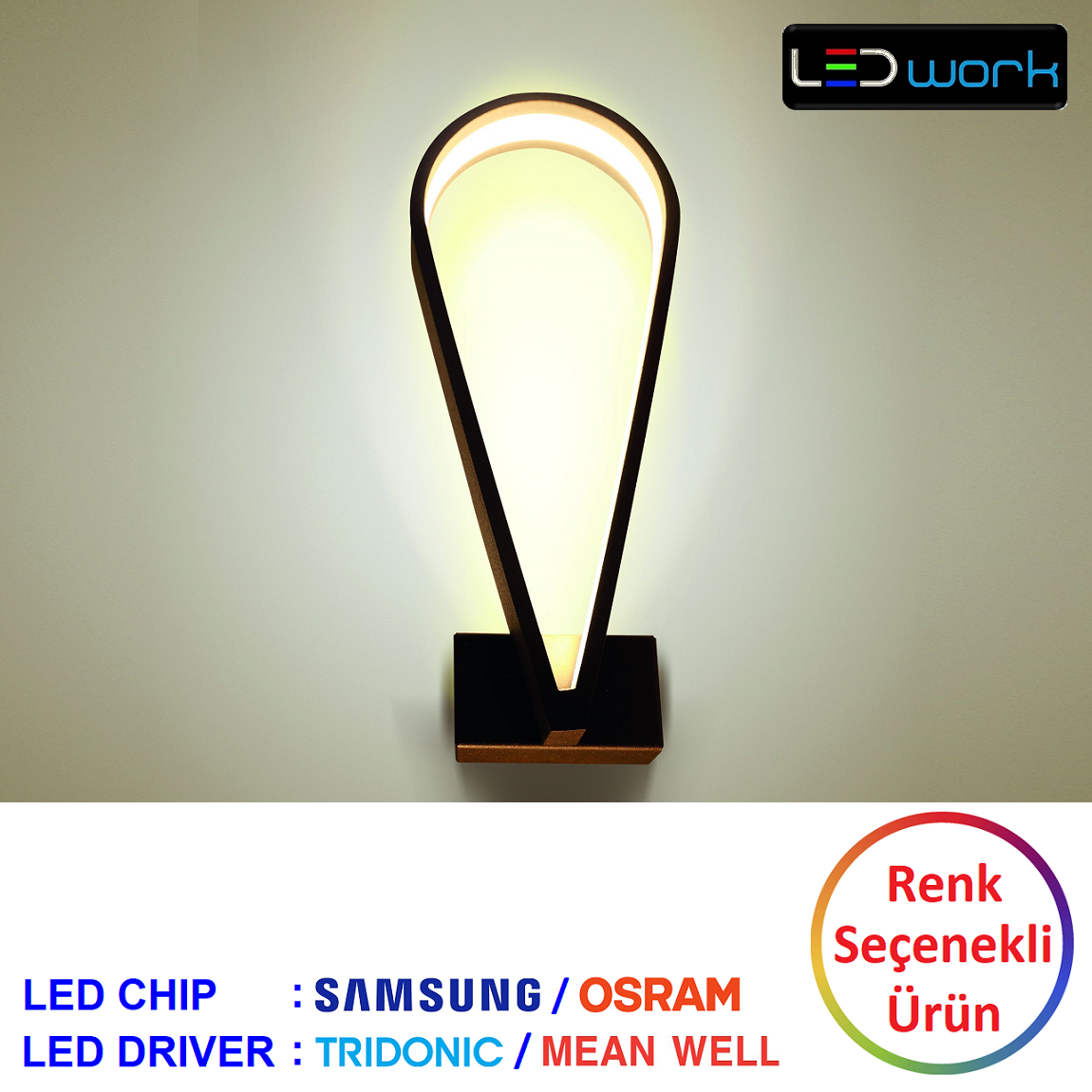 LW-Elegant-103 - Dekoratif LED Aplik