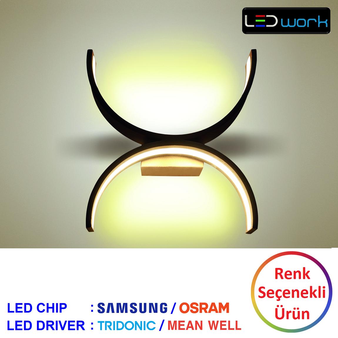LW-Elegant-104 - Dekoratif LED Aplik