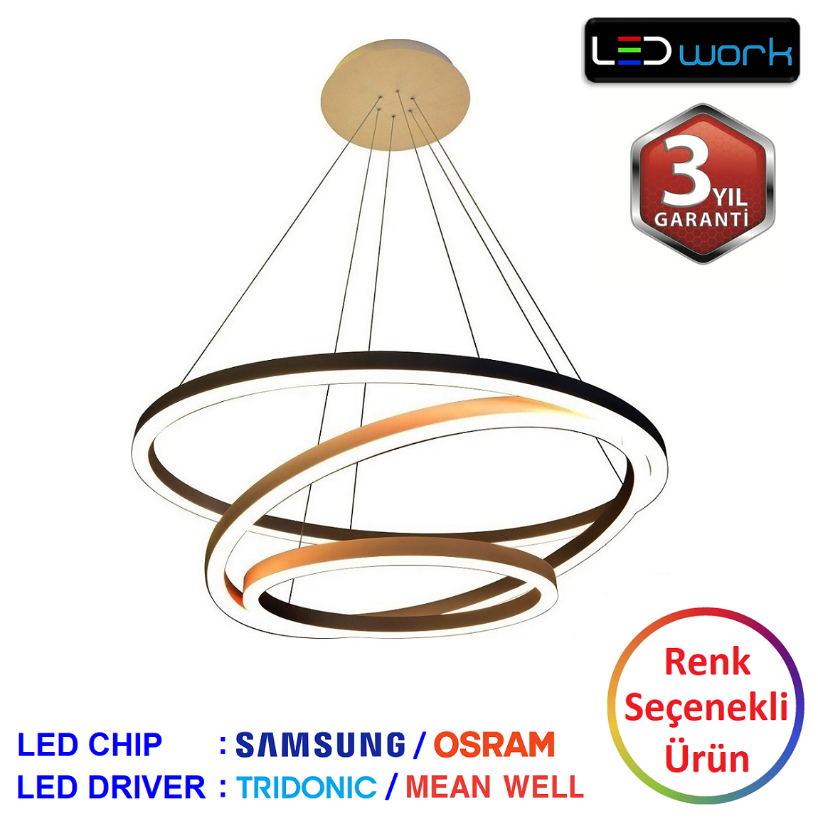 LW-Elegant-15 - Dekoratif LED Sarkıt