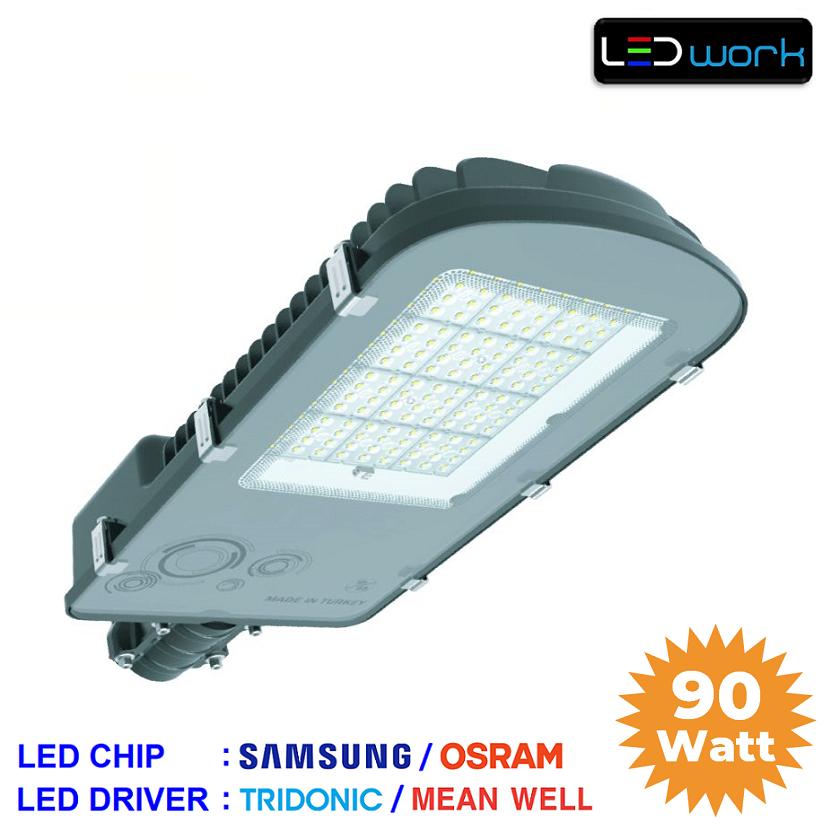 LW-LSA-90-01 - 90 Watt Power LED Sokak Armatürü