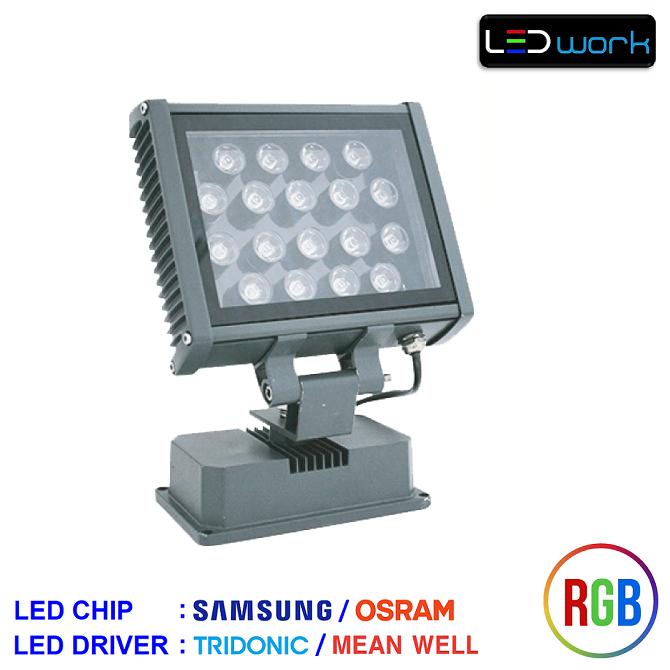 LW-MPRO18-RGB-02 - 18 Watt Sıva Üstü RGB LED Wallwasher