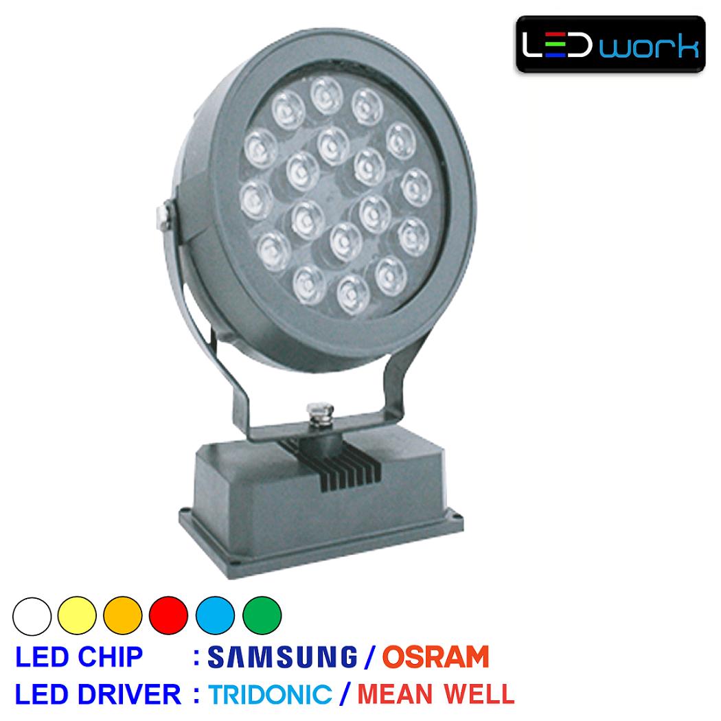 LW-MPRO36-01 - 36 Watt Sıva Üstü LED Wallwasher