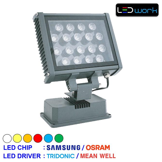 LW-MPRO36-02 - 36 Watt Sıva Üstü LED Wallwasher