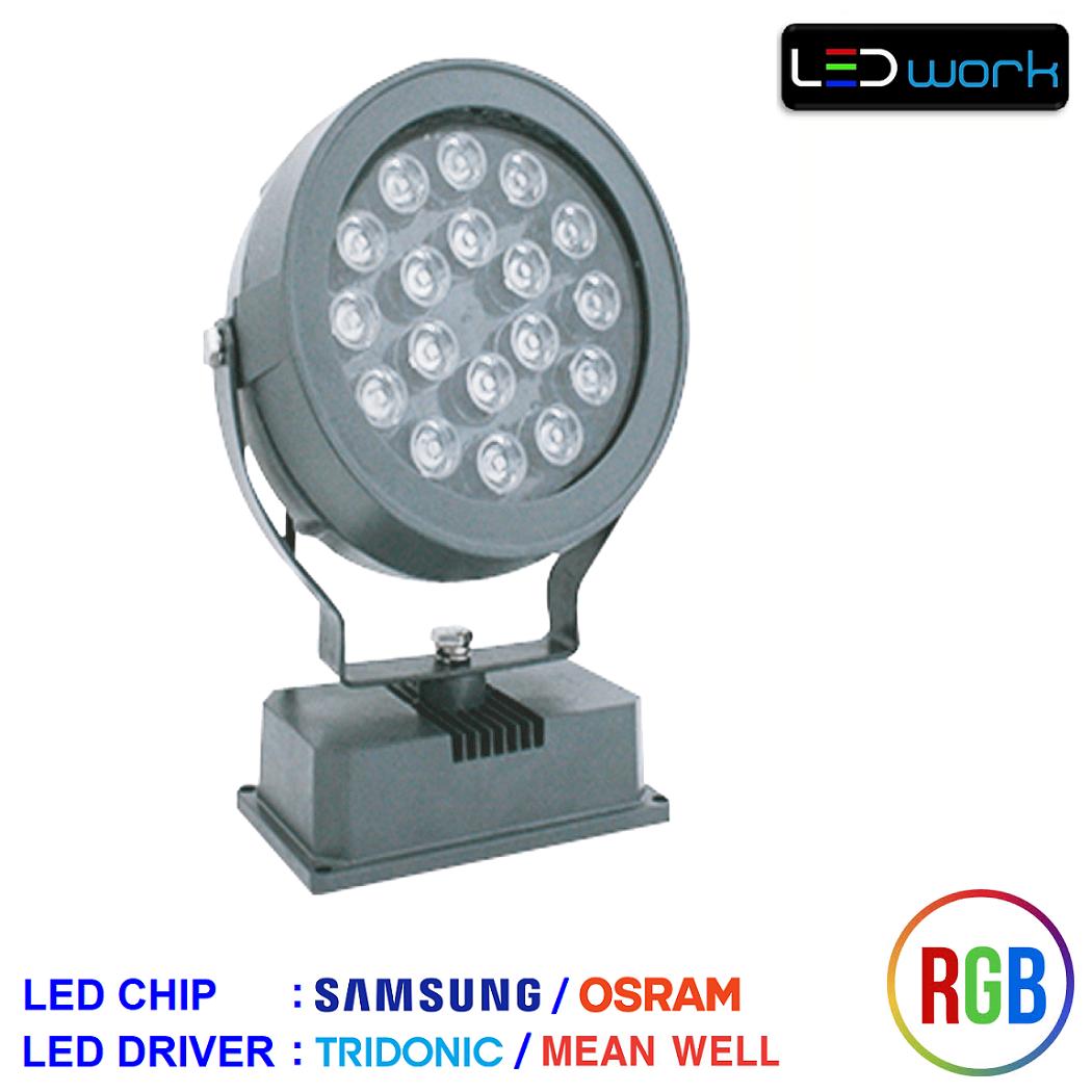LW-MPRO36-RGB-01 - 36 Watt Sıva Üstü RGB LED Wallwasher