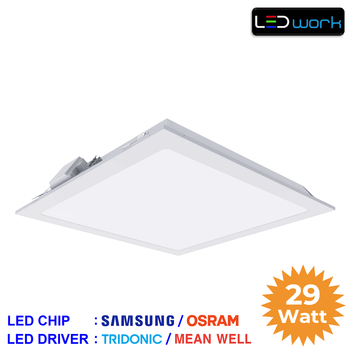 LW-PSAM-60x60-02 - 60x60 Sıva Altı LED Panel Armatür