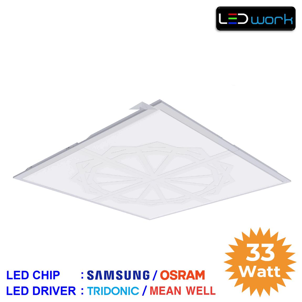 LW-PSAM-60x60-06 - 60x60 Sıva Altı LED Panel Armatür