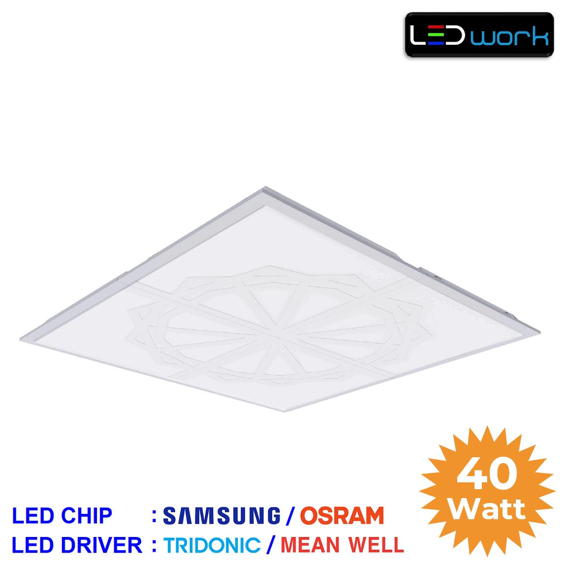 LW-PSAM-60x60-07 - 60x60 Sıva Altı LED Panel Armatür