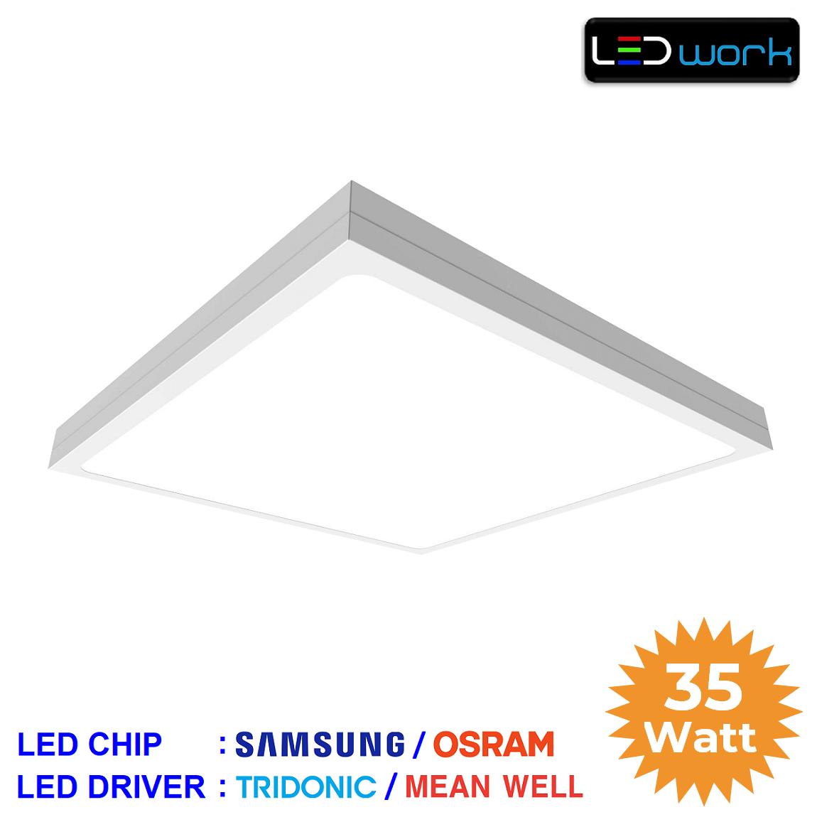 LW-PSUM-60x60-04 - 60x60 Sıva Üstü LED Panel Armatür