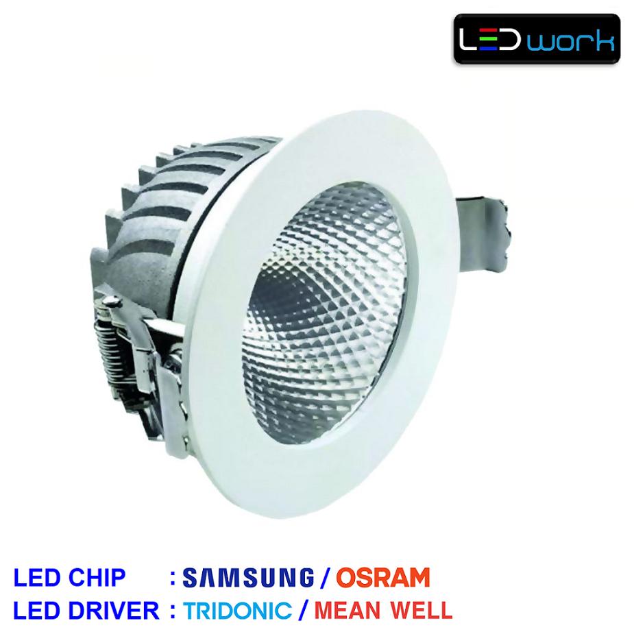 LW-Sinus-001 - Sıva Altı LED Mağaza Spotu