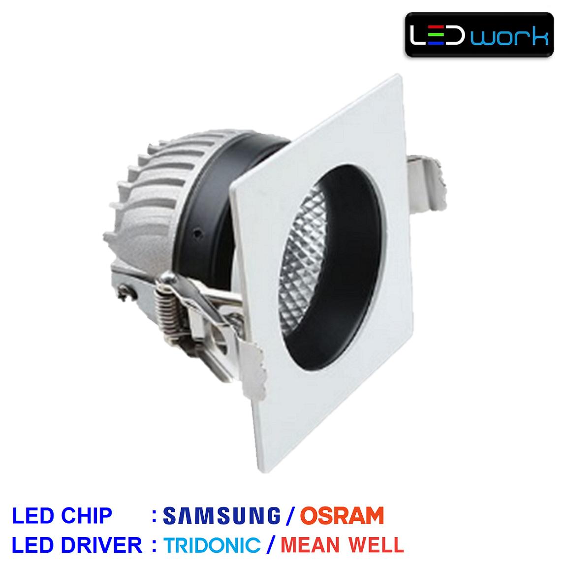 LW-Sinus-002 - 23 Watt Sıva Altı LED Mağaza Spotu