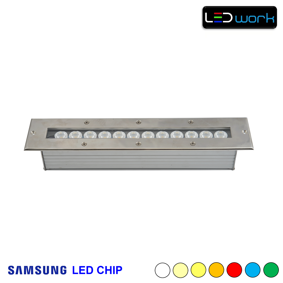 35 cm 12 Watt SAMSUNG LED Chip Sıva Altı Wallwasher