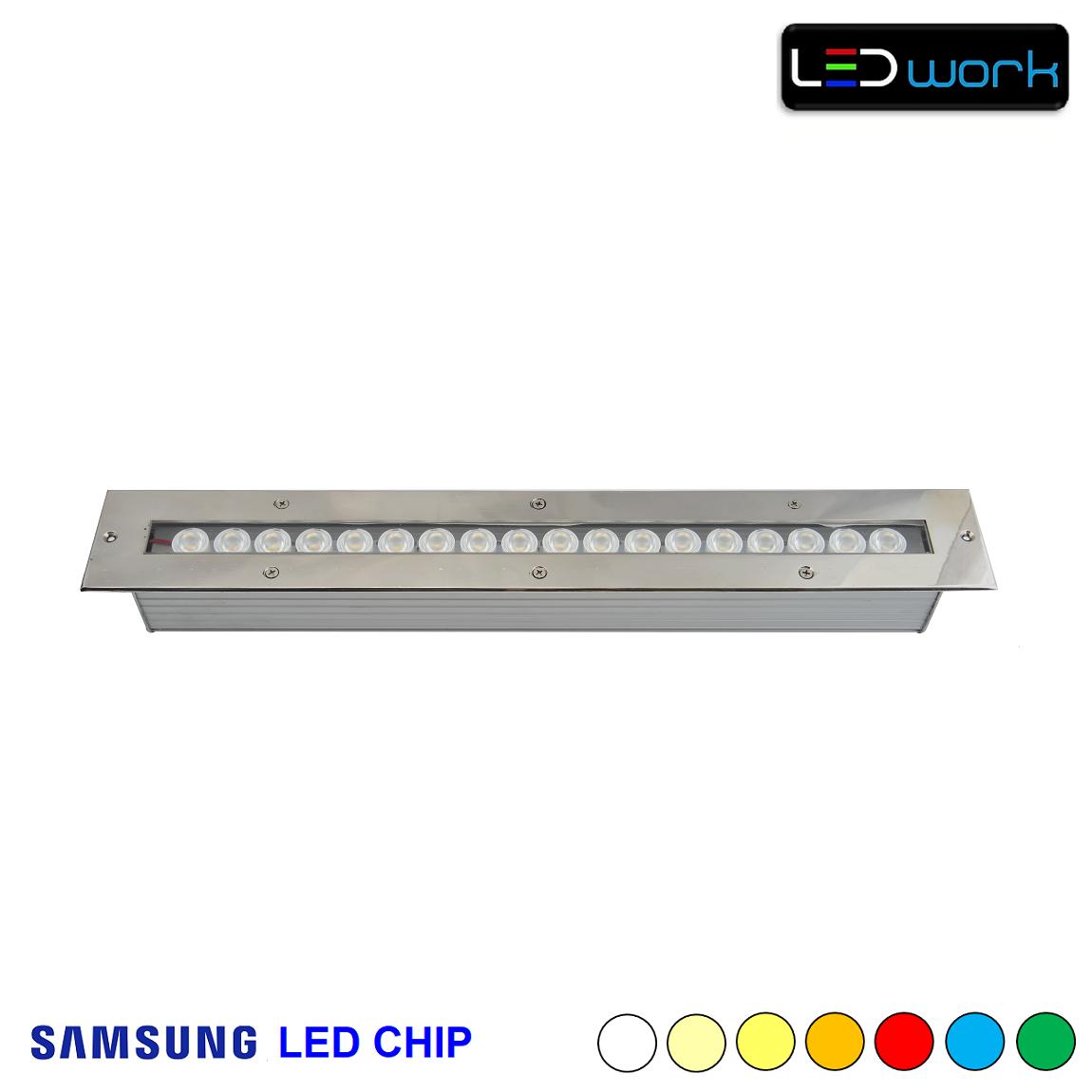 50 cm 18 Watt SAMSUNG LED Chip Sıva Altı Wallwasher