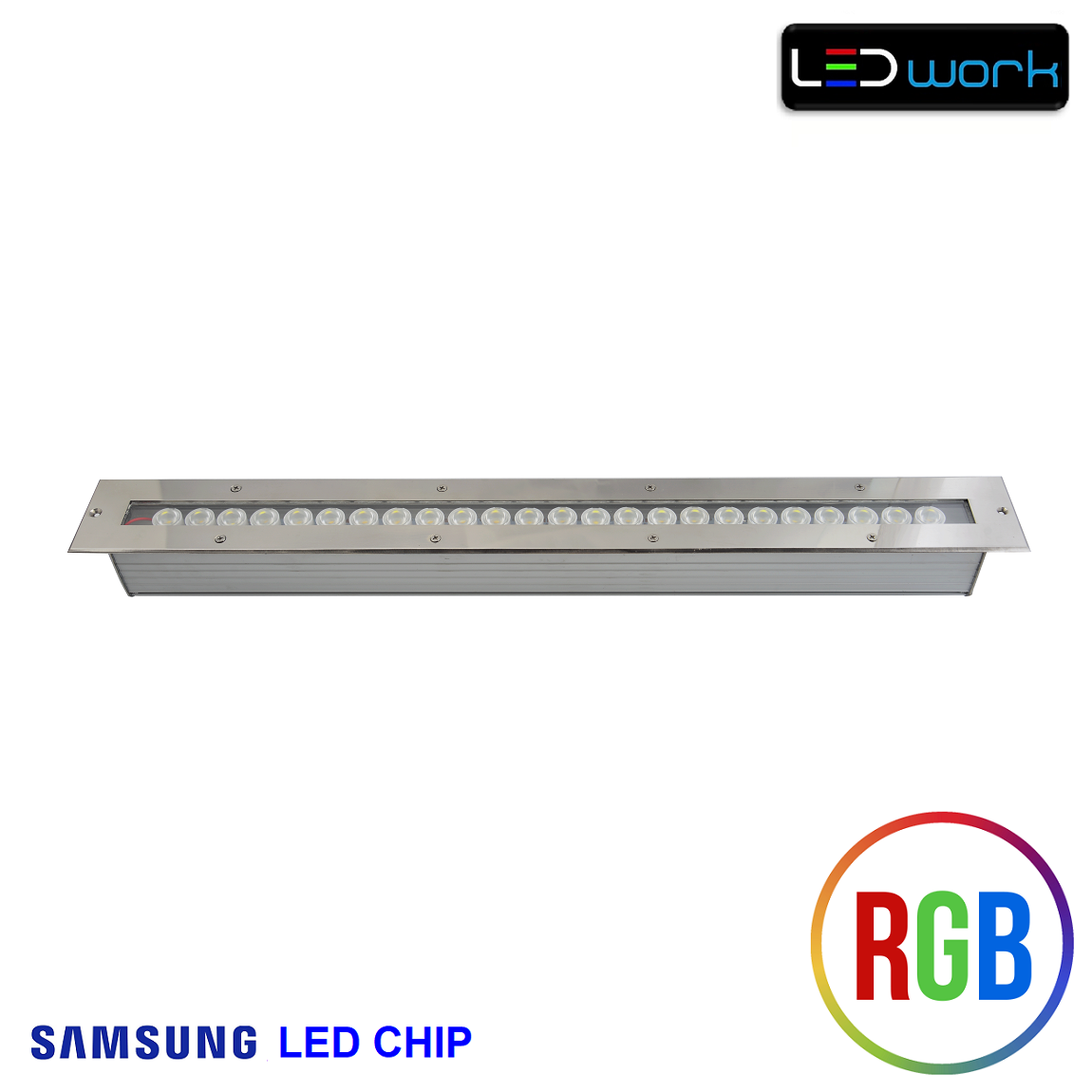 67 cm 24 Watt SAMSUNG LED Chip Sıva Altı RGB Wallwasher