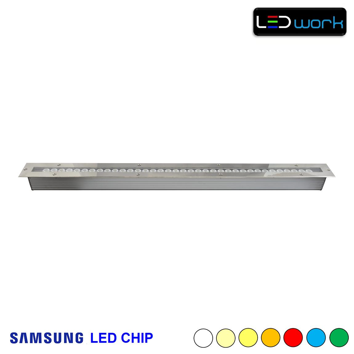 100 cm 36 Watt SAMSUNG LED Chip Sıva Altı Wallwasher