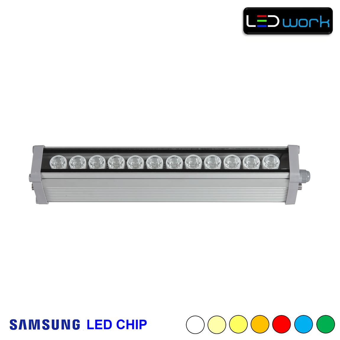 35 cm 12 Watt SAMSUNG LED Chip Sıva Üstü Wallwasher