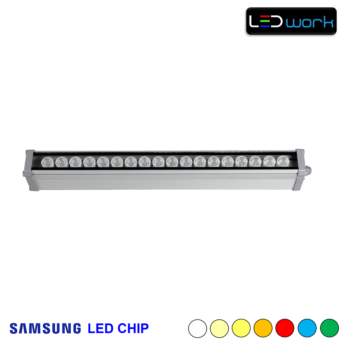 50 cm 18 Watt SAMSUNG LED Chip Sıva Üstü Wallwasher